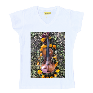 Playera Violin - Gal
