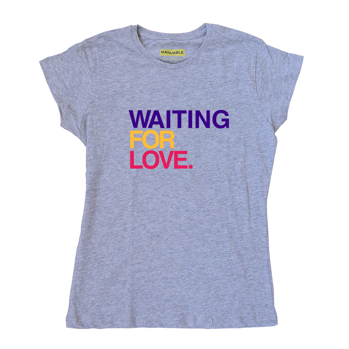Playera Waiting For Love - Gal