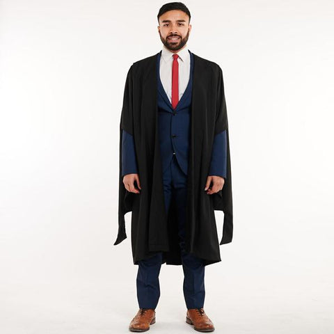 MASTERS GOWN & MORTARBOARD SET