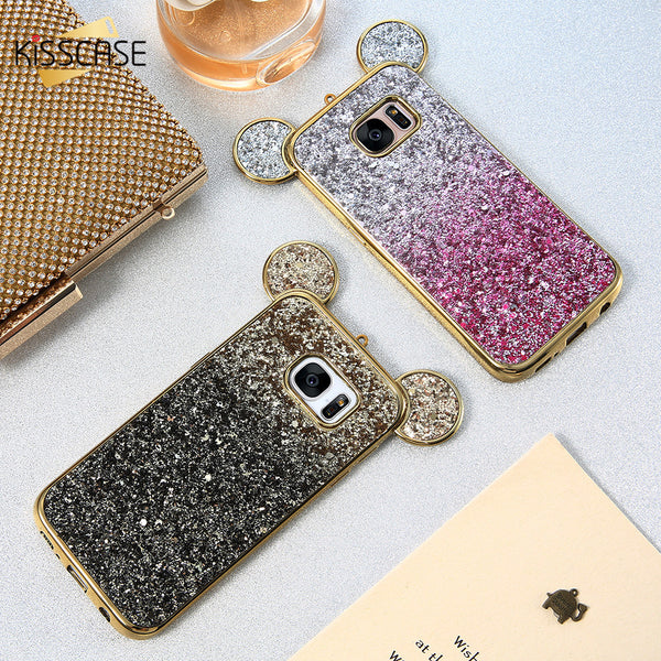 KISSCASE Phone Cases For iPhone: 5 5s 6 6s 6 Plus 7 7 Plus and For Samsung: S6 S6 Edge S7 S7 Edge