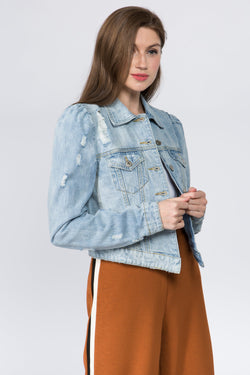 Daisy Denim Jacket