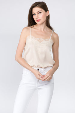 Lacey Satin Top