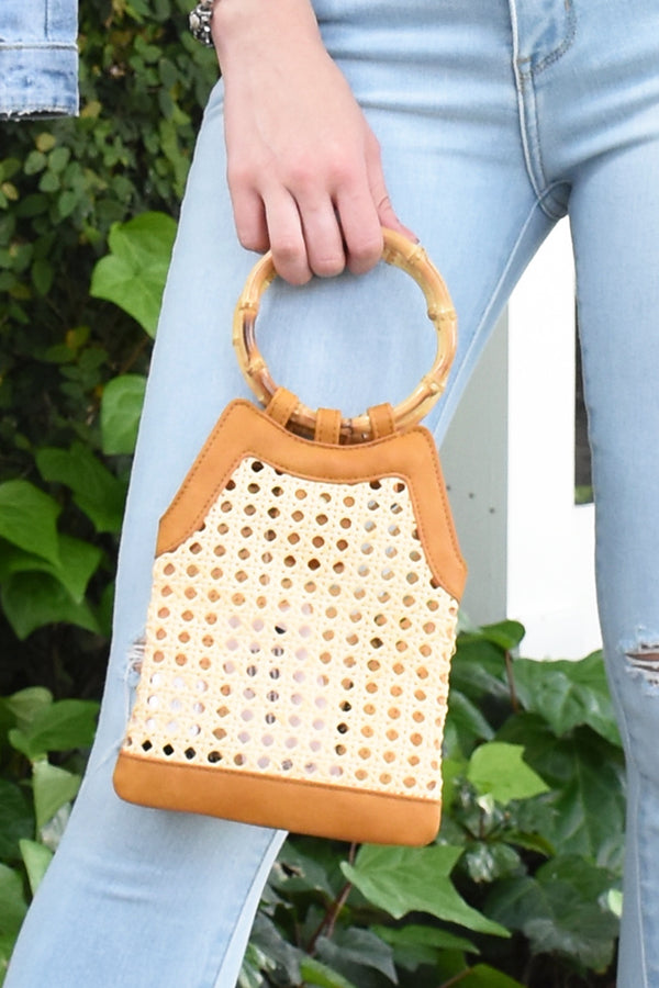 NEUTRAL BAMBOO BAG
