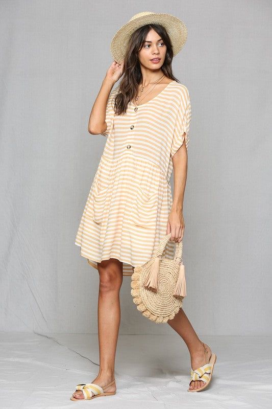 Allison Baby Doll Dress