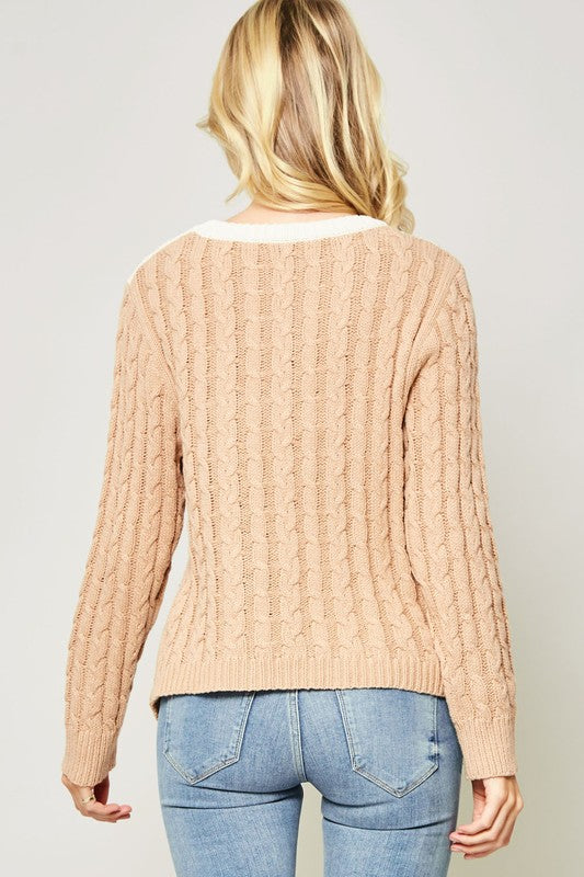 Lauren Elizabeth Asymmetrical Sweater