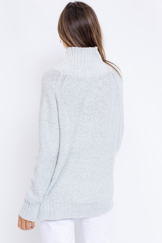 Teressa Much Neck Sweater