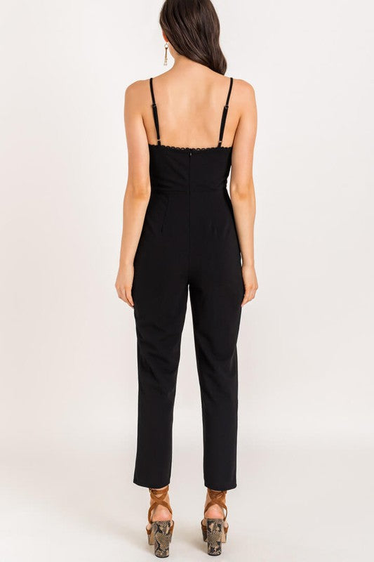 Nina Sweetheart Jumpsuit