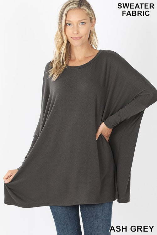 Melody Poncho Sweater