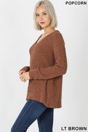 Maeve Popcorn Sweater