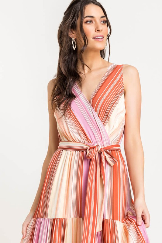 Charlotte Tie Front Dress