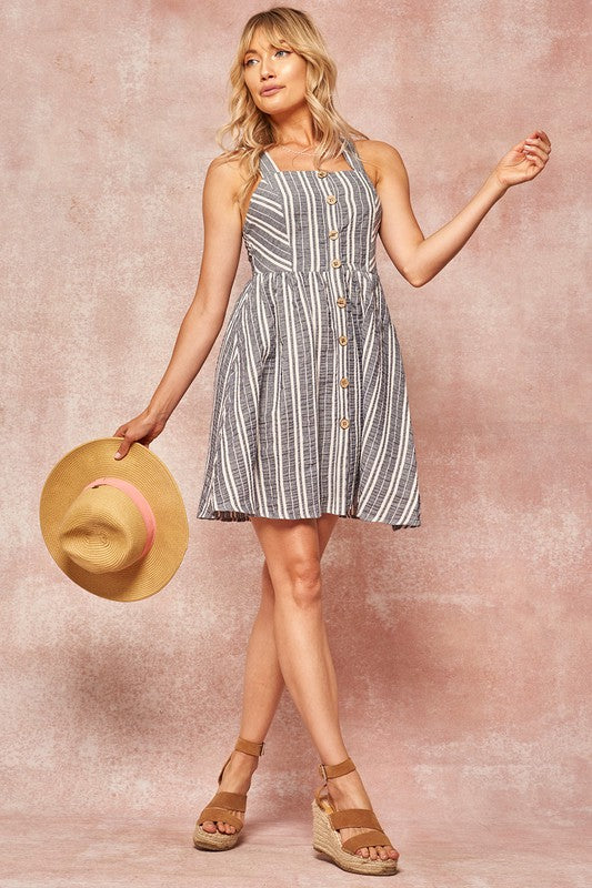 Poppy Striped Dress