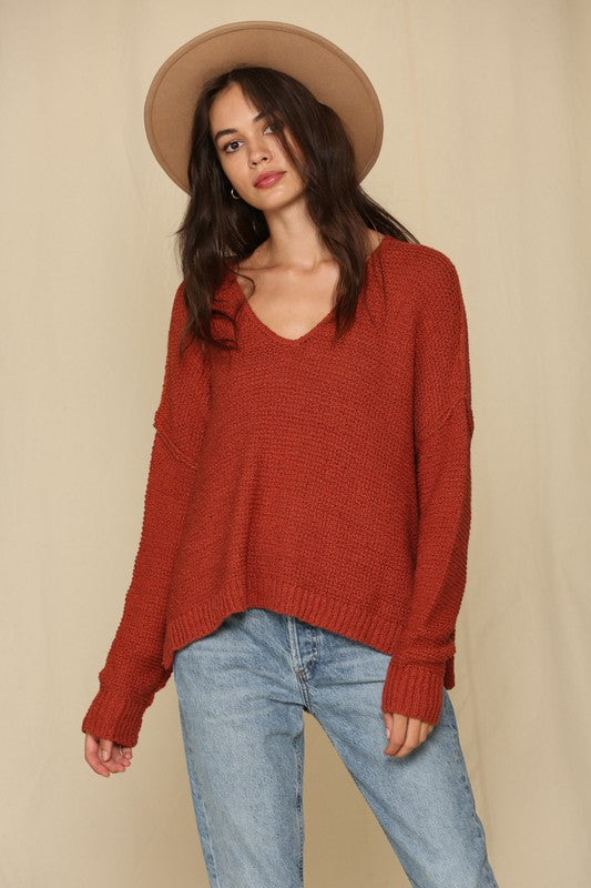 Courtney V-Neck Sweater