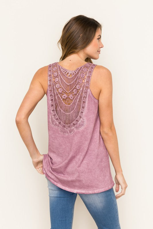Briella Lace-Back Top