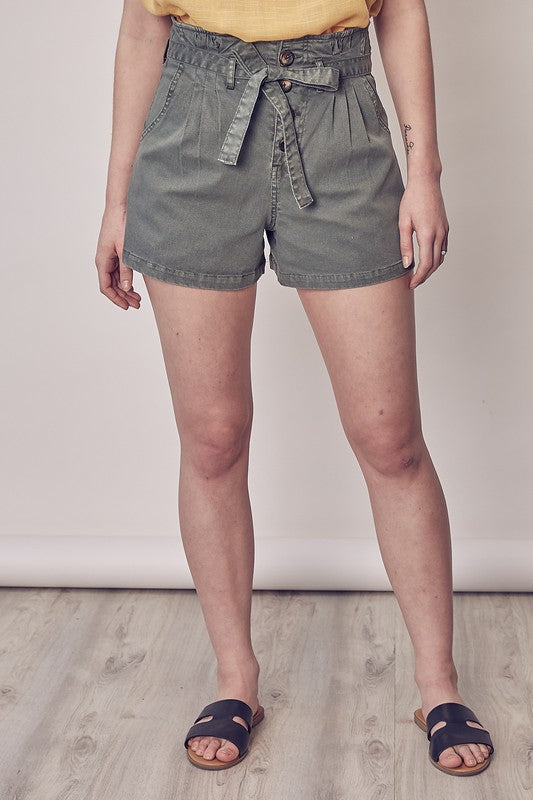 Stacey Paperbag Waist Shorts