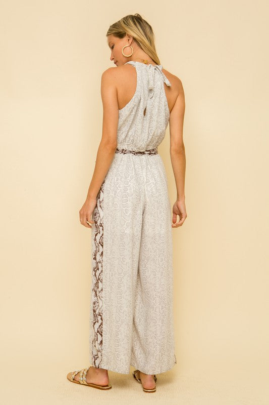 Shiloh Animal Print Jumpsuit