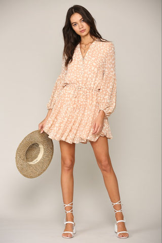 Nadine Ruffle Dress