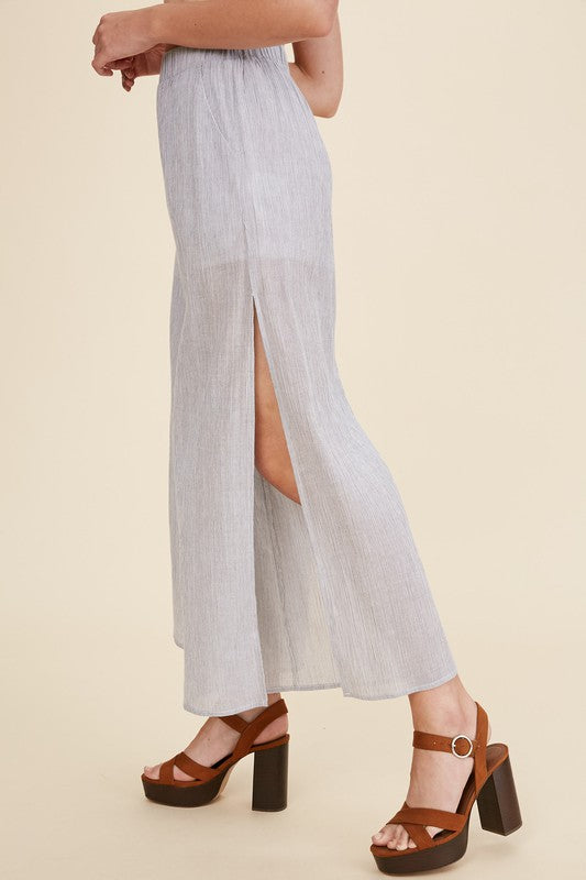 Heidi High-Slit Culottes