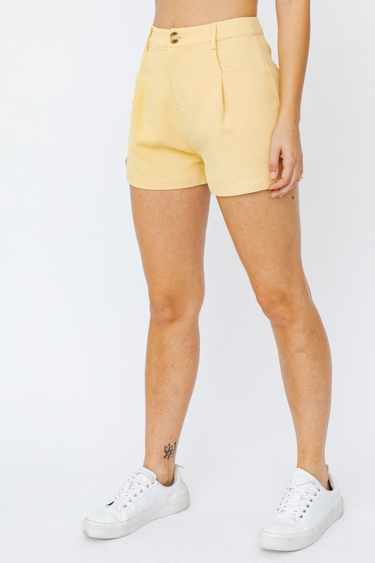 Lucy Front Pleated Short
