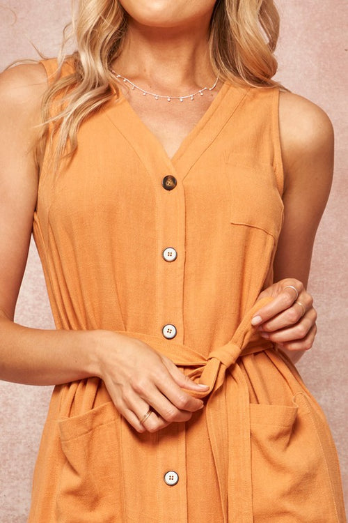 Johanna Button Down Dress