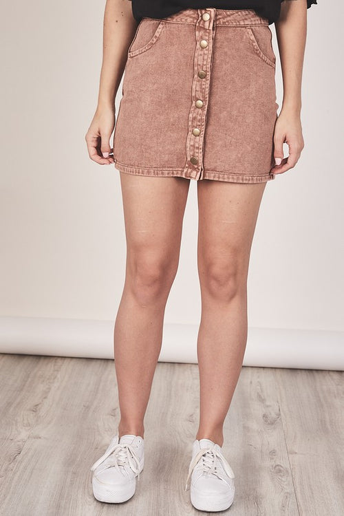 Bree Denim Skirt
