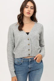Lizbeth Button Down Cropped Cardi