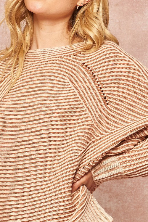 London Ribbed Sweater