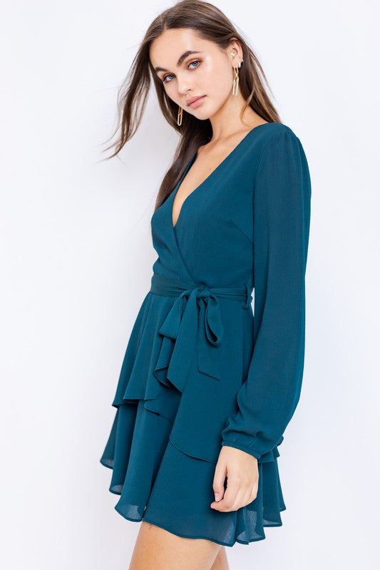 Dena Ruffle Mini Dress