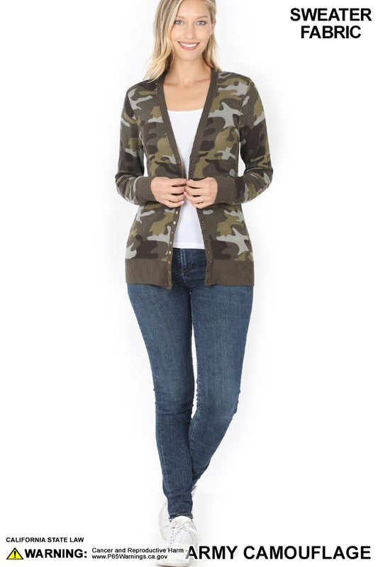 Willow Snap Button Cardi
