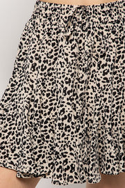 Lorelai Animal Print Mini Skirt