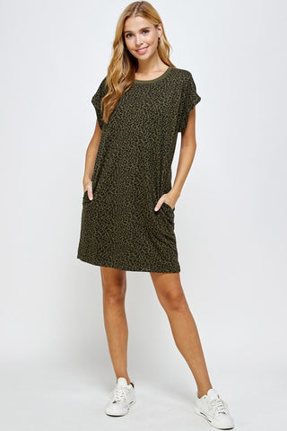 Amy Ruffle Mini Dress - Plus