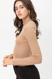 Linda Metallic Sweater