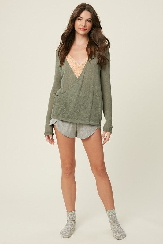 Nathalie Pullover Sweater