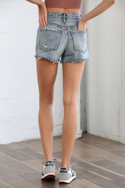Harlow Distressed Jean Shorts