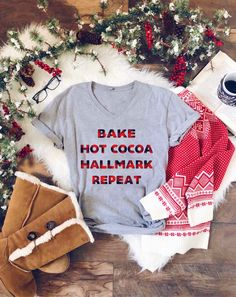 Bake, Hot Cocoa Graphic Tee