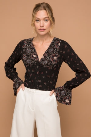 Mia Bell Sleeve Top