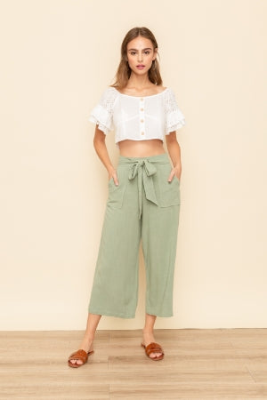 Harlow Cropped Pant