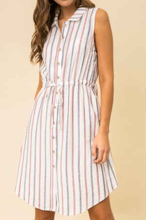 Maggie Striped Dress