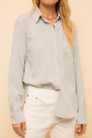 Cooper Gingham Blouse