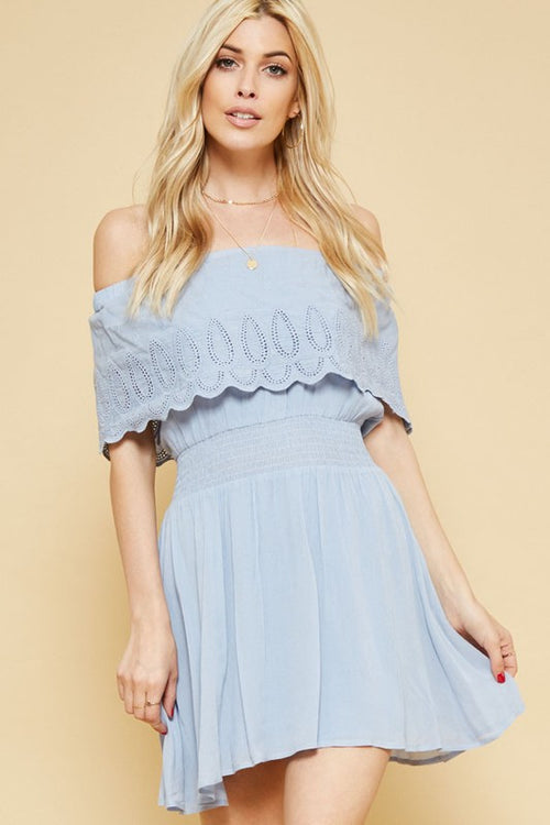 Sadie Off Shoulder Dress