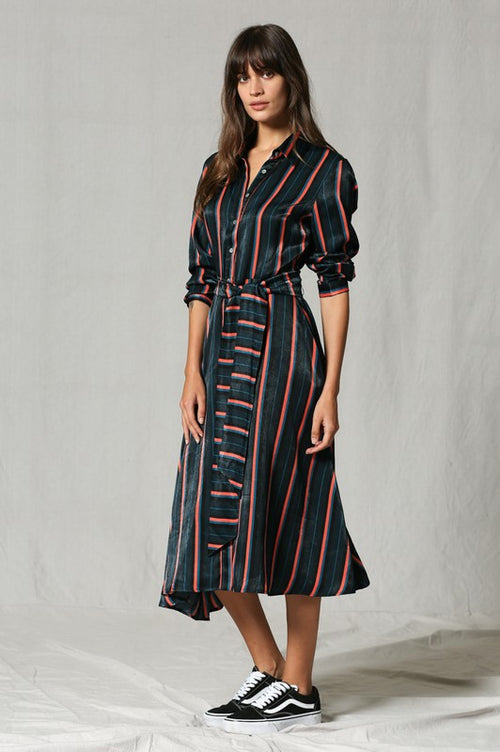 Regina Multi-Striped Dress