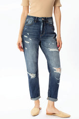 Benny High Rise Girlfriends Jeans