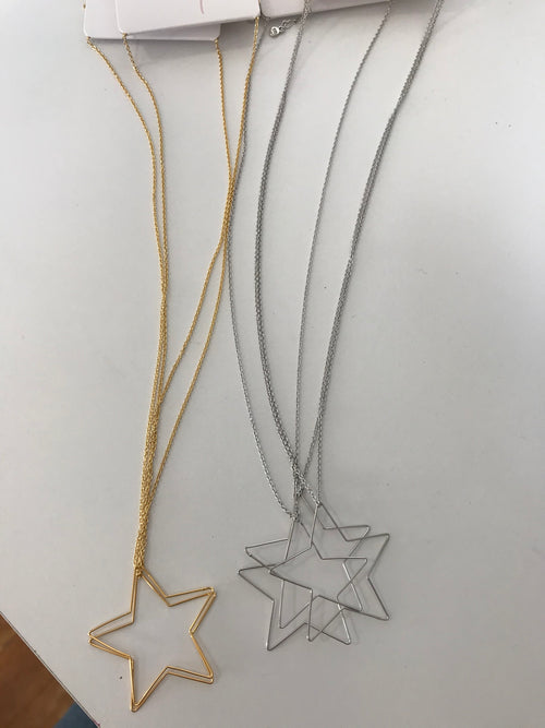 Star Trim Necklace