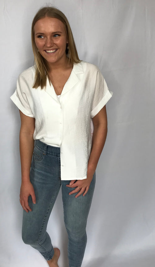 Maggie Button Down