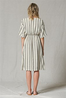 Mona Striped Dress