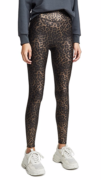 Spanx Metallic Leopard Shine Legging