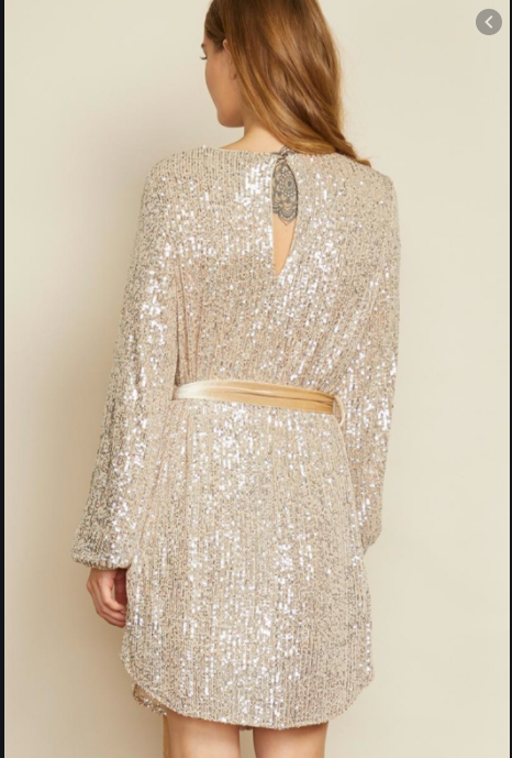 Mila Sequin Tunic