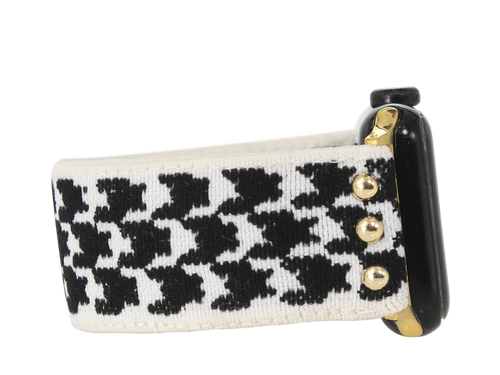 Tessa Black Stretchy Watch Band
