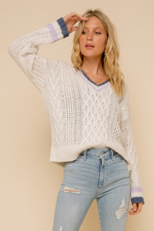 Teagan V-Neck Sweater