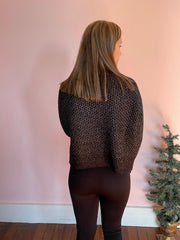 Mia Melange Sweater