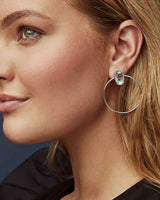 Mayra Open Frame Earrings